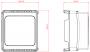 EtherHaul 0.5ft SLIM Antenna